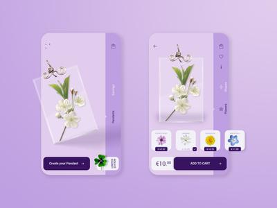 Concept app handmade jewelry