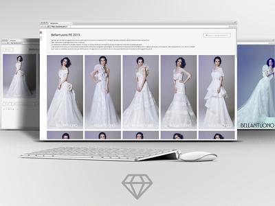 Bellantuono - wedding dresses website