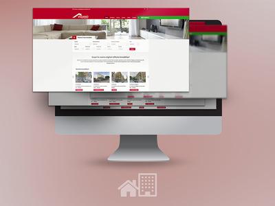 Vigiano - Real estate website