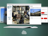 Skyposter - website for outdoor advertising