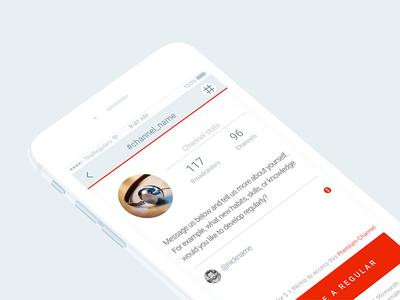 Chat Profile Screen
