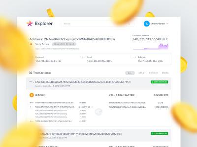 Blockchain Explorer minimal clear search result explorer blockchain lykke bitcoin