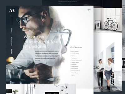 Meansync Digital digital store promo agency minimalism danish norway white gray minimal case