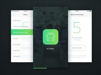 mTicket redesign