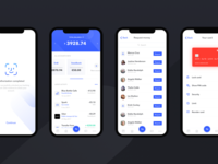 Financial Services App Design