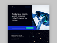 ICO Landing Page ui design page landing ico