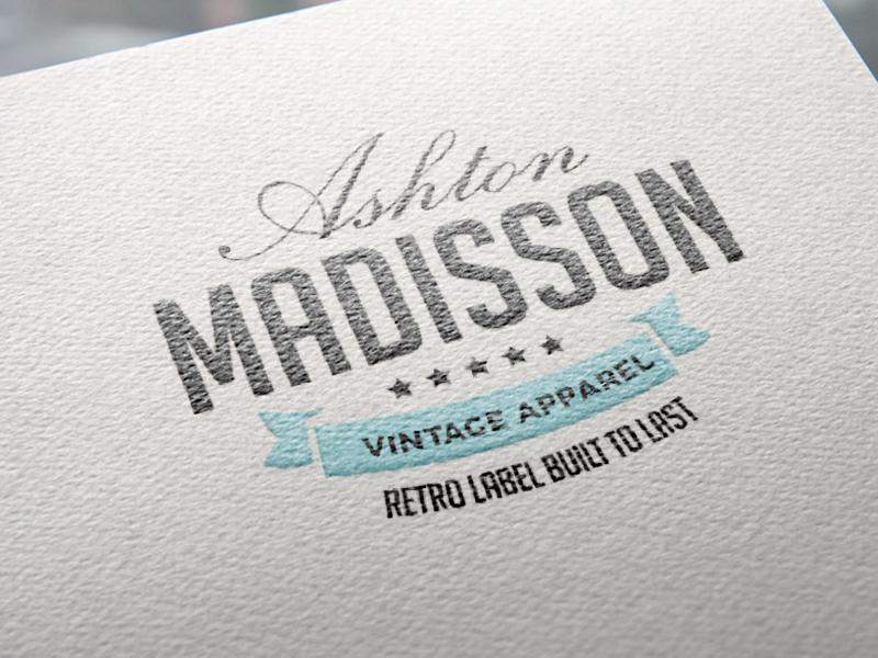 Premium Set Of 100 Logos #2 - Letterhead lettering graphicghost kit free creator download vintage stationary premade templates brand logo