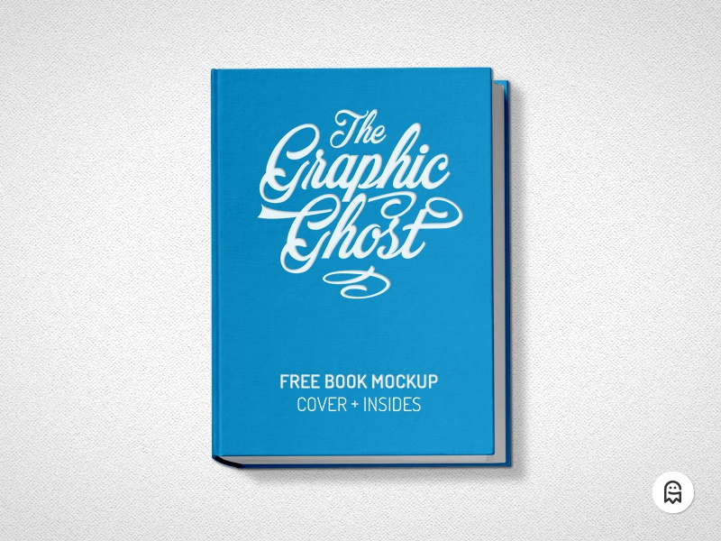 Free Book Mockup freebie graphicghost download template author design editorial literature pages inside insides cover