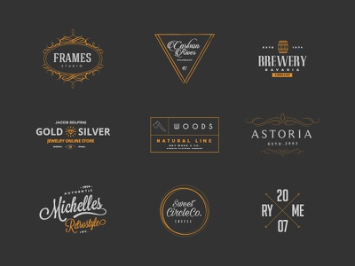 The Professional Logo Creators Kit - Logo Templates free download elements logo creator creation freebie tool template generator graphicghost pro