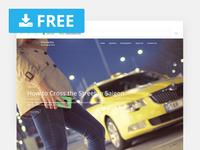 Elanzalite – Free Blog Theme