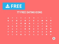 77 Free Dating Icons