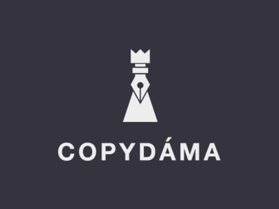 CopyLady design vector logo debut