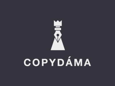 CopyLady design vector logo debut