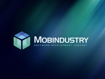 Mobindustry logo brand logo mobindustry