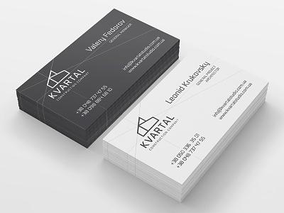 Kvartal Studio business cards card business