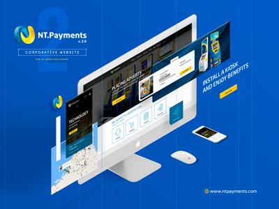 Ntpayments site blue site web webdesign kiosk ntpayments