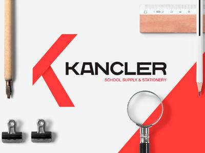 Kancler Identity kansler kancler logo school supply stationery