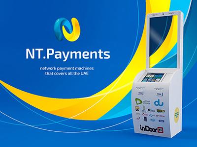 Payments machine UI terminal payment kiosk