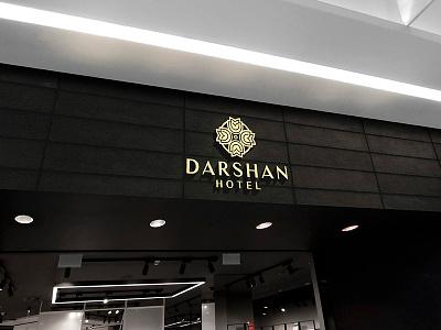 Hotel Branding - Darshan Por packaging logotype logoplace creative ecommerce websites psd vector visualise fibonacci stationary identity illustration graphics branding logo