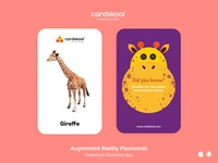 Cardskool Card Design (Giraffe)