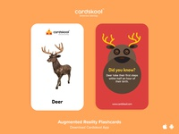 Cardskool Card Design (Deer)