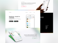 bunq Website Redesign WIP