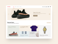 Exclusive Clothing Website Concept