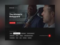 Cinema Website Concept