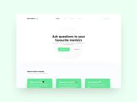 MentorBrain Website Concept