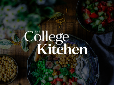 Magazine Wordmark education wellbeing health food serif typography logo design ligature logotype wordmark magazine branding logo