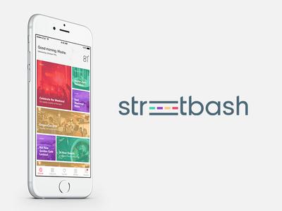 Streetbash App UI