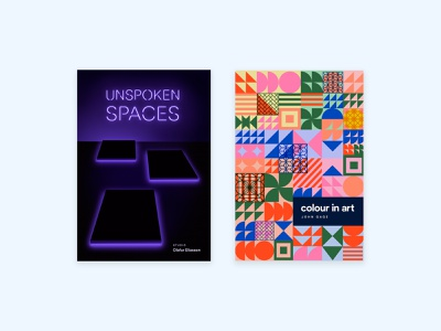 Book Covers typogaphy color photography sculpture geometric patterns book cover book design