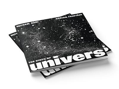 Univers Type Specimen cover univers minimalism bw print design booklet specimen type typography