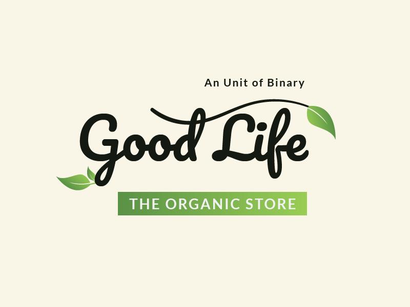Good Life - Logo organic food organic bengaluru logo graphicdesign logodesign