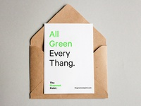 The Greenest Point Invite