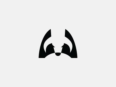 bull powerfull bison masculine bull animal design icon negative space black simple logo