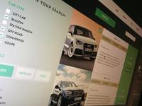WIP - Cars UI Design Template