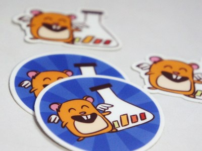 Vwo stickers shot