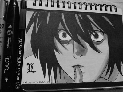 'L' from Death Note