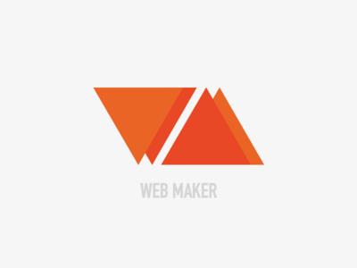 """Web Maker"" logo"