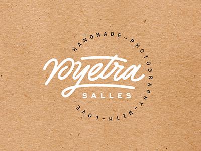 Pyetra Salles Branding logo logotype kultra alexandre fontes pyetra salles identity branding handlettering lettering
