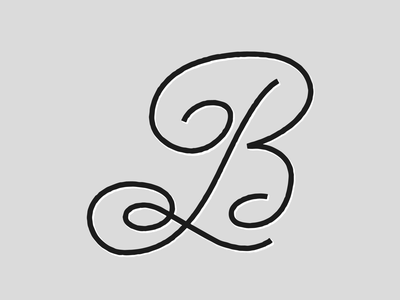 B #36DaysOfType design alexandre fontes cursive 36 days b b lettering tipografia type letter b 36 days 36 days of type