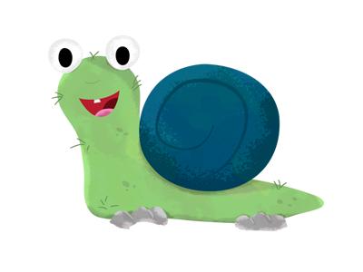 Snail Dribbble snail skillshare illustration