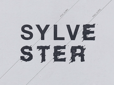 Sylvester Stallone design layout poster film screen printing sylvester stallone type typography