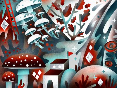 Mushroom Forest Lodge