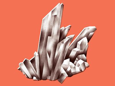 Quartz Chunk stone rock gemstone crystal quartz mineral gem