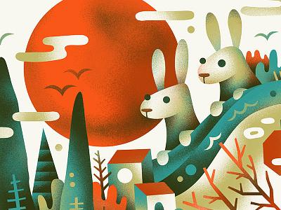 River Rabbits bunny rabbit