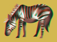 Glitchy Horse