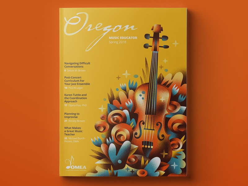 OMEA spring 2019 instrument violin music