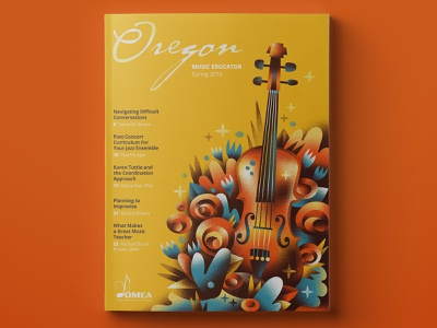 OMEA spring 2019 instrument violin music